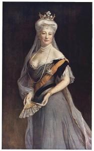Porträt der Auguste Viktoria, Deutsche Kaiserin von Philip Alexius de László